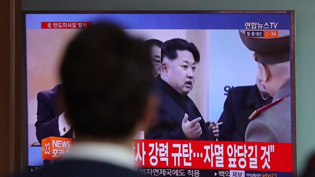U.S. says North Korean missile test failed with fiery ocean crash