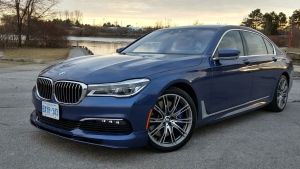 The 2017 BMW Alpina B7 xDrive. (Shari Prymak)