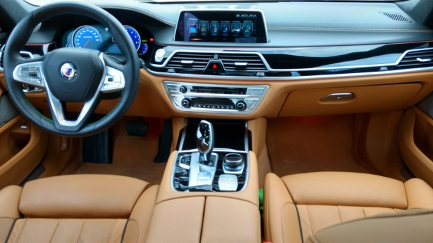 BMW Alpina B7 Interior