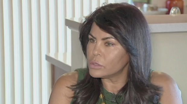 Maria Silva, the wife of Joseph Galaska, speaks to WISN about the charges against her husband. (ABC/WISN/CTV News Toronto)