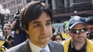 Former CBC host Jian Ghomeshi arrives at court in Toronto, on May 11, 2016. Ghomeshi has resurfaced with an online music and podcast series. (Mark Blinch/The Canadian Press)