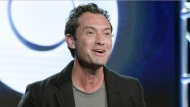 """In this Jan. 14, 2017 file photo, Jude Law attends the """"The Young Pope"""" panel at the HBO portion of the 2017 Winter Television Critics Association press tour in Pasadena, Calif.  (Photo by Richard Shotwell/Invision/AP, File)"""