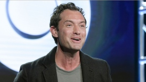 "In this Jan. 14, 2017 file photo, Jude Law attends the ""The Young Pope"" panel at the HBO portion of the 2017 Winter Television Critics Association press tour in Pasadena, Calif.  (Photo by Richard Shotwell/Invision/AP, File)"