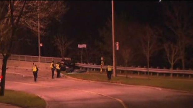 Woman killed, man in critical condition after vehicle crash near Bayview Village