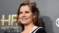 In this Nov. 14, 2014 file photo, Geena Davis poses in the press room at the Hollywood Film Awards at the Palladium in Los Angeles. Davis is launching a film festival focused on women and diversity in Bentonville, Ark. (Photo by Jordan Strauss/Invision/AP, File)
