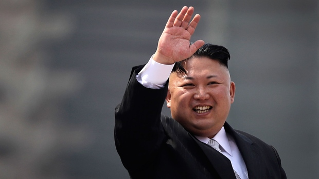 North Korea Shows Off Missiles During Military Parade