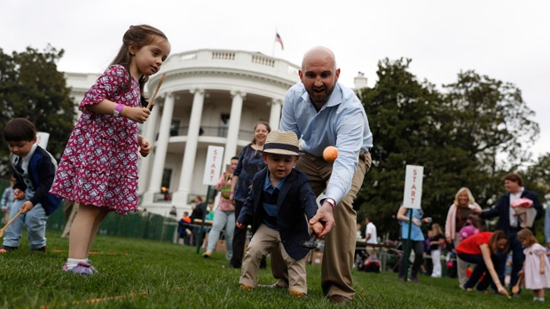 White House bounces into spring with 139th annual Easter Egg Roll