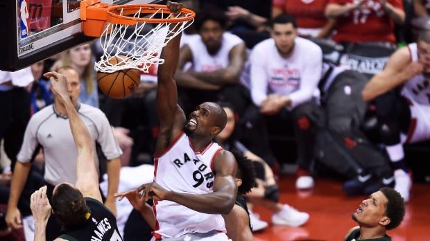 Serge Ibaka Toronto Raptors