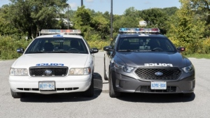 Toronto police are consulting the public on what the design of their next police cruisers should look like, following outspoken criticism during the roll out of the dark-grey squad cars last fall. (Toronto Police Services)