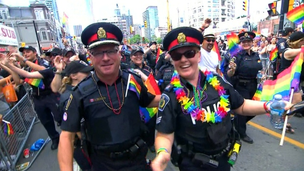 Toronto to keep funding Pride parade amid controversy over police participation
