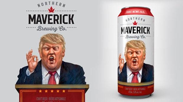 Northern Maverick Fake News Ale