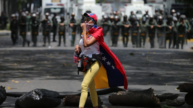 2 killed amid massive anti-government marches in Venezuela
