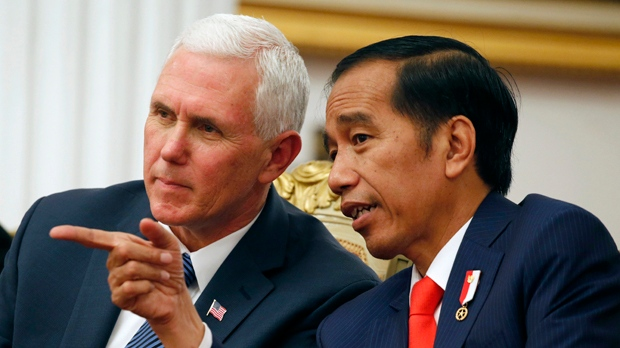 Pence Talks Trade in Japan