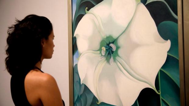 Georgia O'Keeffe at AGO