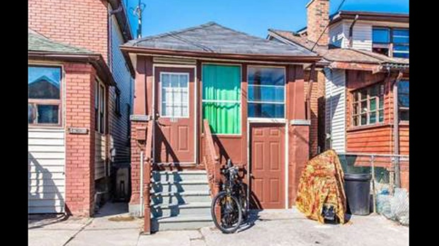 A home listed for sale for $500,000 on Rosethorn Avenue is shown in a photo from its listing. (Sutton Group Realty Systems)