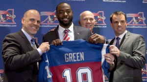 The Toronto Argonauts have acquired all-star receiver S.J. Green from the Montreal Alouettes in exchange for the a sixth-round selection in the 2017 CFL Draft and a conditional draft pick in 2018. (Ryan Remiorz/The Canadian Press)