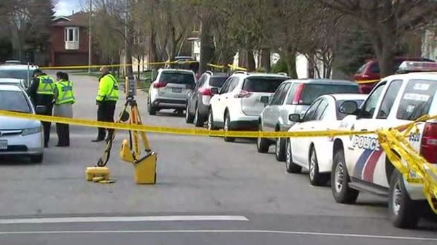 A boy, 6, was struck by an SUV while crossing the street with his mother in Scarborough. He later died in hospital. (CP24)