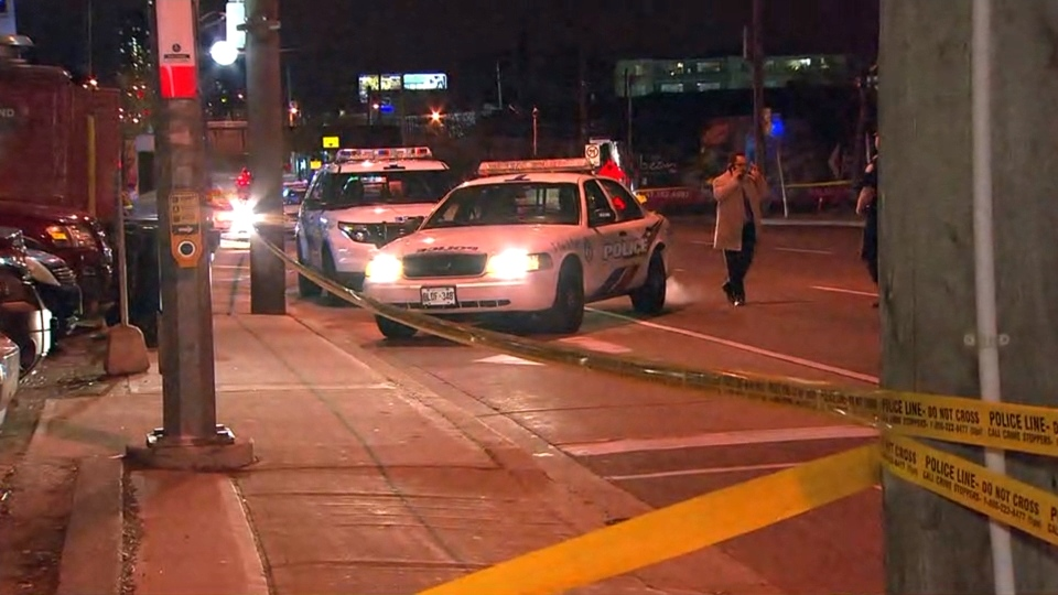 The 33-year-old was pronounced dead on scene due to his gunshot wounds, Toronto police said. (CP24)