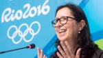 Canadian Olympic Committee president Tricia Smith speaks to reporters during a news conference at the 2016 Summer Olympics Wednesday, August 3, 2016 in Rio de Janeiro, Brazil. THE CANADIAN PRESS/Ryan Remiorz