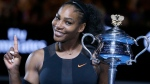 Serena Williams is briefly back at No. 1 in the WTA rankings, despite not having played a match since January, and with plans to take the rest of 2017 off because she is expecting a baby. Thanks to a calendar quirk, Williams moved up one spot from No. 2, swapping places with Angelique Kerber. (Aaron Favila/AP Photo)
