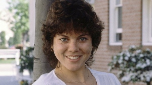 """This Feb. 19, 1982 file photo shows actress Erin Moran of the television show, """"Happy Days"""" in Los Angeles. (AP Photo/Wally Fong, File)"""