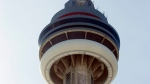 The CN Tower in Toronto is shown on Tuesday March 6, 2007. (Frank Gunn / CP)