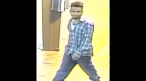 Police have released security camera images of a man wanted in a sexual assault investigation. (Toronto Police Service/ handout)