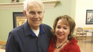 James Acker, left, and his wife of 45 years, Diane Acker, two days before he was brutally beaten at St. Joseph's Villa in Dundas, Ont in January. Acker, 86, died on Apr. 16 due to complications from an attack by another patient with Alzheimer's. (Diane Acker)