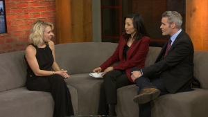 "Kortney Wilson , star of a home renovations show, ""Masters of Flip"" visits CP24."