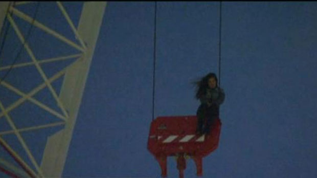 Toronto Woman Rescued After Hours Stuck On A Highrise Crane