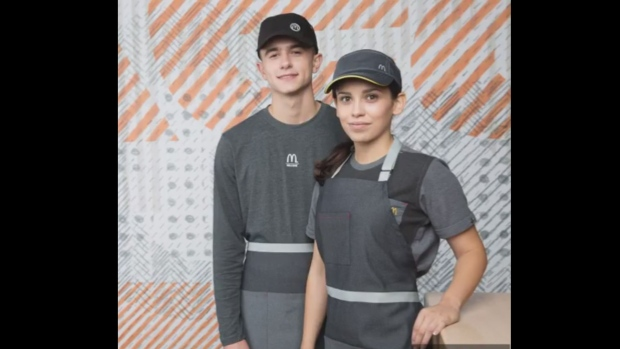 McDonald's uniforms trolled for likeness to Star Wars Death Star costumes