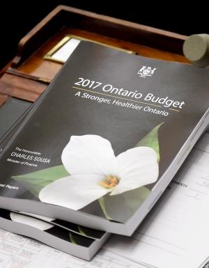 Ontario budget - DE