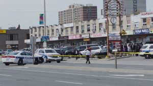 A man was rushed to hospital with life-threatening injuries after a shooting in Mississauga on Thursday afternoon, police say. (Elijah Marchand)