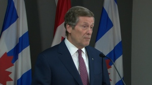 The provincial budget failed to deliver any new funding for public transit or to fix his city's dilapidated public housing buildings. (CP24)
