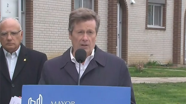 NDP promises Toronto social housing cash as mayor slams Liberal government