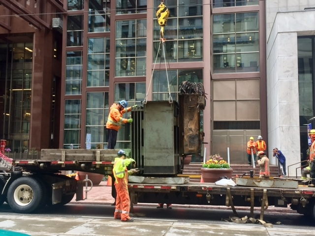 Entire Rbc Building Damaged By Hydro Vault Explosion Needs To Be Restored Cp24 Com