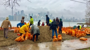 Toronto Island Flooding