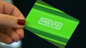 A Presto Card is shown in this undated photo.