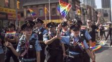 Pride Toronto, police controversy