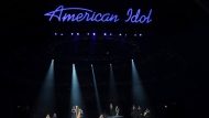 "FILE - In this Thursday, April 7, 2016, file photo, Katherine McPhee, from left, Casey James, Carly Smithson, Jessica Sanchez, Clay Aiken, Ruben Studdard and Amber Holcomb perform at the ""American Idol"" farewell season finale at the Dolby Theatre in Los Angeles. ABC said Tuesday, May 9, 2017, it will revive ""American Idol"" after it has spent only one year off the air. (Photo by Matt Sayles/Invision/AP, File)"