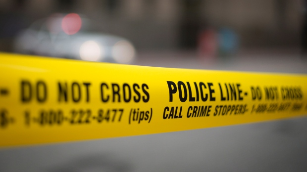 Toronto Police tape