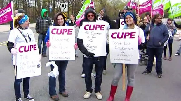 Toronto Zoo strike