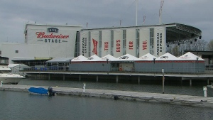 The Budweiser Stage at Ontario Place is shown. (CTV News Toronto)