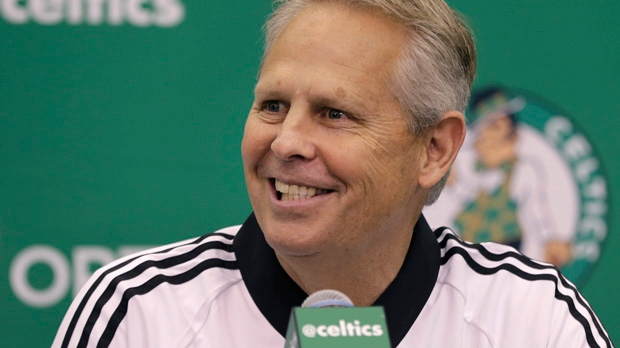Celtics win NBA draft lottery, Lakers at No. 2 keep pick