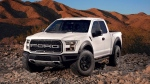 The 2017 Ford F-150 Raptor is pictured.