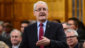 Transport Minister Marc Garneau responds to a question during Question Period in the House of Commons on Parliament Hill in Ottawa on Monday, May 15, 2017. THE CANADIAN PRESS/Sean Kilpatrick