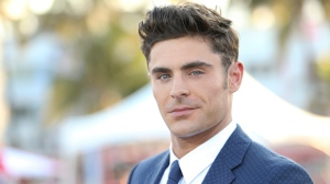 """Zac Efron arrives at the U.S. Premiere of """"Baywatch"""" at Lummus Park on Saturday, May 13, 2017, in Miami Beach, Fla. (Photo by Omar Vega/Invision/AP)"""