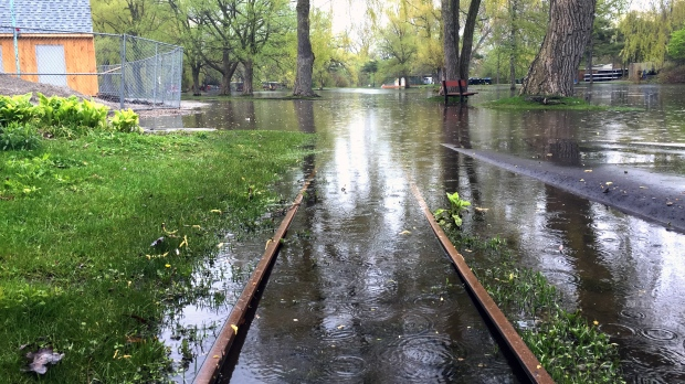 52% of Toronto Islands buildings threatened by flooding