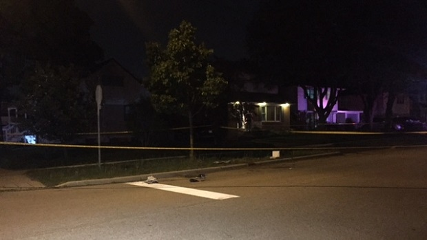 A male victim has been rushed to trauma centre following a shooting in Rexdale on Thursday night.