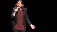In this April 30, 2016 file photo, actress Vanessa Bayer performs at a David Lynch Foundation Benefit for Veterans with PTSD at New York City Center in New York. (Photo by Scott Roth/Invision/AP, File)